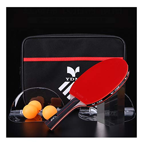 Check Out This SSHHI Ping Pong Racket, Rubber,Has Excellent Speed and Rotation Capability,Suitable f...