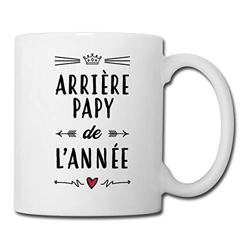 Arrière-Papy De L'Année Mug blanc, blanc