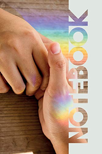 Notebook: Holding Hands Terrific Composition Book for Pansexual Lovers