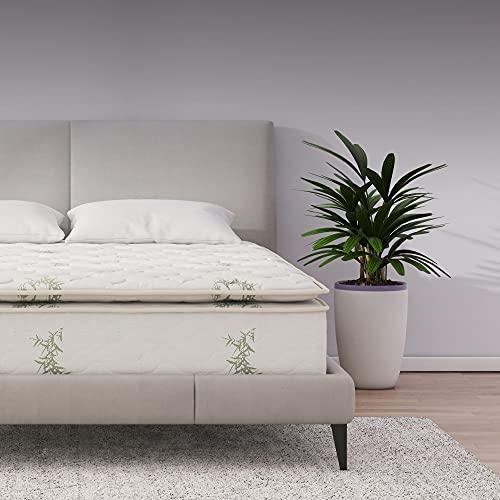 Signature Sleep 13' Hybrid Coil Mattress, Queen, White