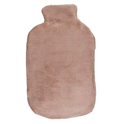 Gel-Wärmflasche Mikrowelle   Alternative zu Kirschkernkissen & Kühlpads   Wärmekissen mit flauschigem Bezug für Nacken, Schulter, Rücken, Reisen   Wichteln Geschenkideen