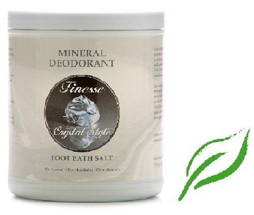 Finesse–Mineral Deodorant Foot Bath Salt 700g