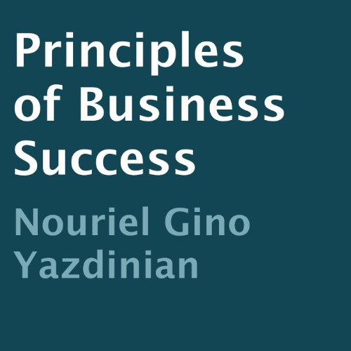 Principles of Business Success audiobook cover art