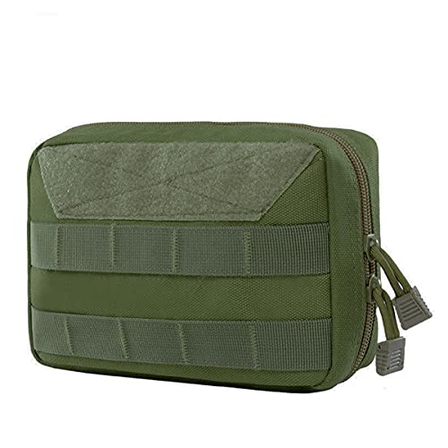 XCQ Outdoor Multifunktionale Molle Sport Fanny Pack Reise Erste Hilfe Medizinisches Kit Taktische Getriebe Fanny Pack Plug-In-Modul Packung Taille Tasche langlebig 0402 (Color : Khaki)