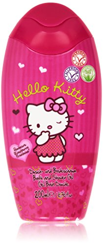 Hello Kitty – Gel Bad und Dusche, Himbeere – 200 ml