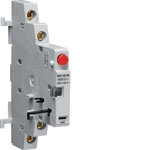 Hager–MZ527N Kontakt Signage-Mangel für guardamotores 1NA, 2A, 400V