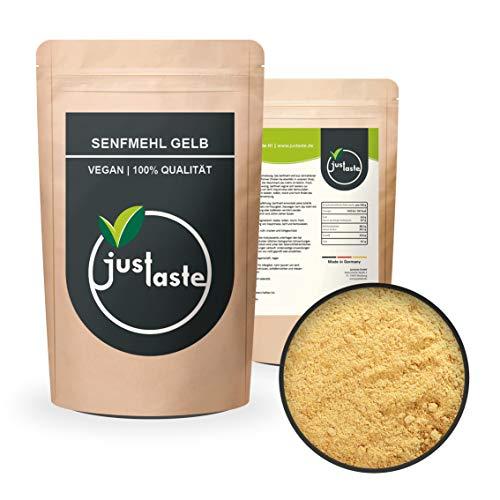 100 g Senfmehl gelb | Senf Pulver gemahlen | Senfherstellung | Senfsaat Senfsamen gemahlen | Gewürze Gewürz