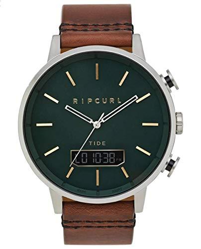 Rip Curl Detroit Tide Digital Leather Men's Watch A1155-GRN
