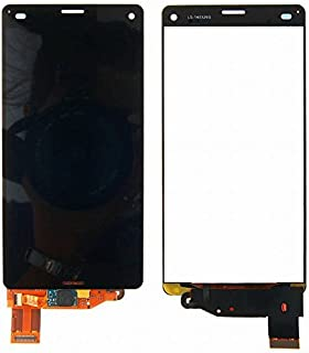 For Sony Xperia Z3 Compact D5803 D5833/So-02G/Z3 Mini 修理用フロントパネル(フロントガラスデジタイザ) タッチパネル Lcd液晶パネルセット 修理工具付き ブラック