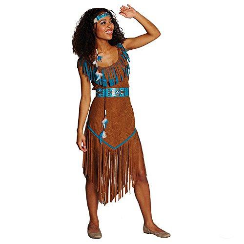 Indianerin Damen Kostüm Wilder Westen Spuaw Karneval