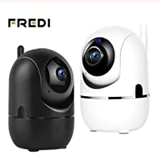 Security Camera WiFi IP Camera - FREDI HD Home Wireless Baby/Pet Camera with iPhone/Android App Cloud Storage Smart Motion Detection Two-Way Audio Night Vision Remote Monitoring,Black
