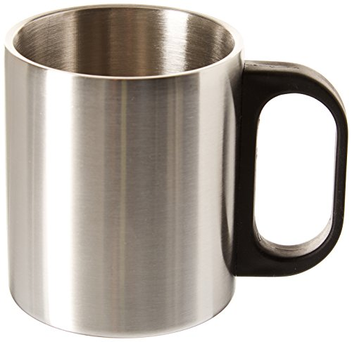 Highlander Insulated Mug - Silver, Large