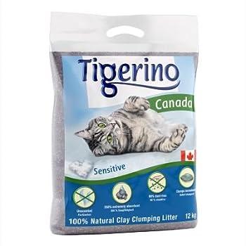 TIGERINO Canada Double Pack sans odeur Litière pour chat 2x 15kg