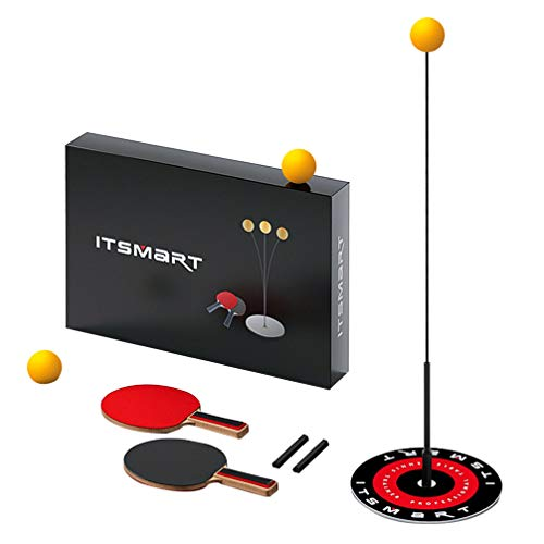 Find Discount TOYANDONA Table Tennis Trainer Elastic Shaft Portable Table Tennis Set Ping Pong Ball ...