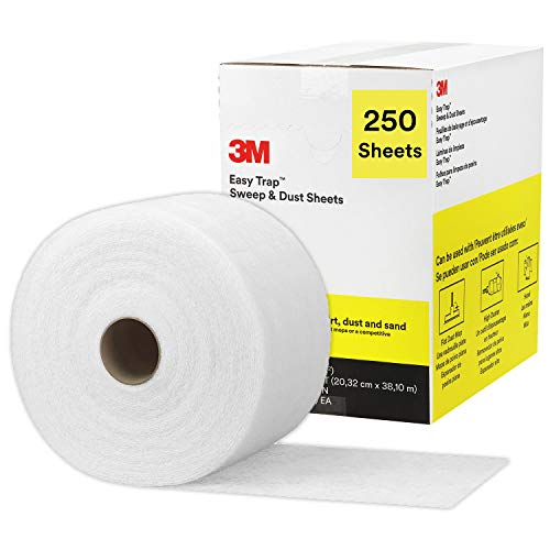3M - 70071659711 Easy Trap Duster Sweep and Dust Sheets for Cleaning Dirt, Sand, and Hair on Hardwood Floors, Vinyl, and Tile in Kitchens, Bathr