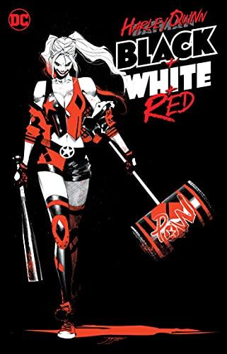 Harley Quinn Black + White + Red