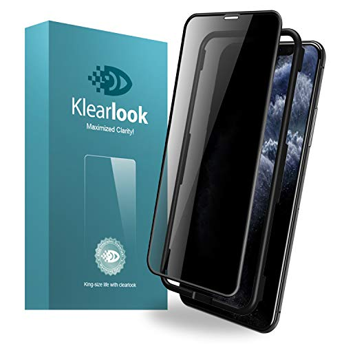 11 Pro Max Privacy Screen Protector Klearlook Tempered Glass