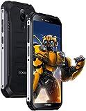 (大幅割引)S40 アウトドア スマートフォン本体 SIMフリー 4Gスマホ本体 Android9.0 5.5インチ 8MP 5MPデュアルカメラ 3GB RAM 32GB ROM 4650mAh大容量バッテリー 防水/防塵/耐衝撃 防災用品 顔認証 指紋認識 技適認証済み (黒)【一年保証】 並行輸入品