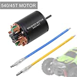 Hootracker Crazepony-UK 540/45T Brushed Motor Shaft 3.175mm for 1/10 RC Car Truck Running Off-Road...