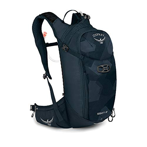 Osprey Siskin 12 Trinkrucksack für Männer, mit Hydraulics™ LT 2,5-Liter-Trinkblase - Slate Blue (O/S)