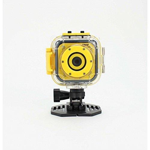 Denver ACT-1303 -Cámara de deportes de acción HD. Sumergible. Sensor CMOS de 1.3mpixel. Àngulo fijo de 90 °, Pantalla de 1.77 ', batería recargable incorporada
