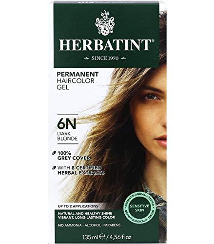 Herbatint Natrol Skin, Hair and Nails Advanced Beauty Capsules, Packed with Beauty Enhancing Ingredients - 5000mcg Biotin, 60 Count, Dark Blonde, 4.56 Fl Oz