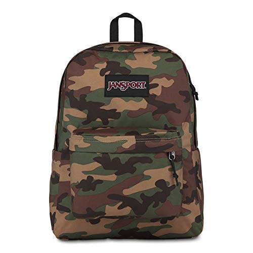 JanSport Ashbury Laptop Backpack - Comfortable School Pack | Surplus Camo