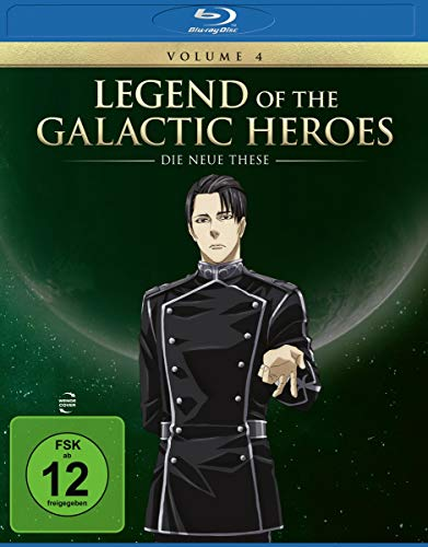 Legend of the Galactic Heroes: Die Neue These Vol.4 [Blu-ray]