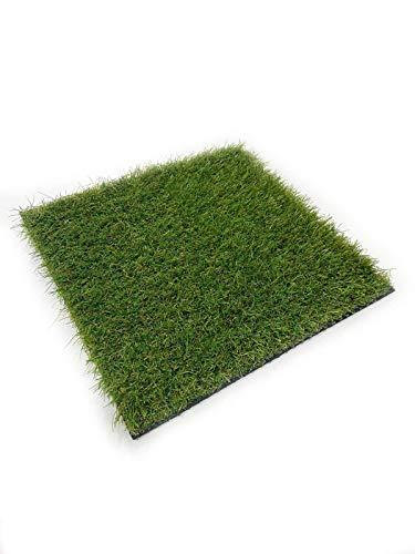 Césped artificial tipo alfombra en rollo | Césped artificial para terraza y jardín | Modelo Niza | Grosor de 20, 30 y 40 mm (40 mm. Rollo 1 x 4 m)