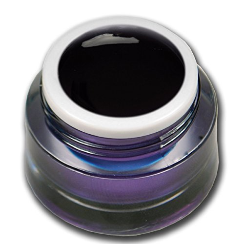 5ml Farbgel Glasgel Schwarz Premium Colorgel RM Beautynails