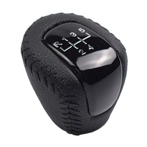 SHENG Accesorios para Automóviles 5 Speed Gear Shift KNOB Coca Manual Cambio Cabeza Pen Bill Pen MPP POMO Ajuste para Chevrolet Aveo 2009-2013 (Color Name : Black)