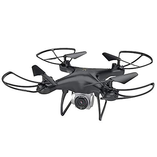 Drohne mit für 21 Minuten Flugzeit, RC Drone, Quadrocopter Mini Helikopter mit Höhehalten, Kopfloser Modus, 3D Flips und 3 Geschwindigkeitsmodi für Anfänger Kinder (Schwarz)