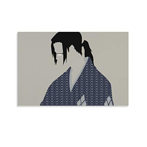 Póster decorativo de anime Samurai Champloo Jin en lienzo para pared, para sala de estar, dormitorio, 60 x 90 cm