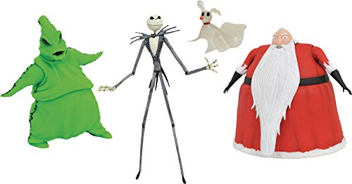 DIAMOND SELECT TOYS San Diego Comic-Con 2020: The Nightmare Before Christmas Deluxe Lighted Action Figure Box Set