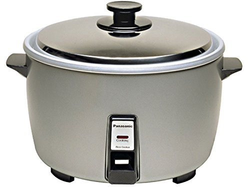 """Panasonic SR-42HZP 23-cup (Uncooked) Commercial Rice Cooker, """"NSF"""" Approved, Stainless Steel Lid"""