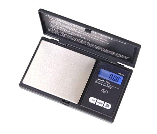Balanza digital de precision. Myco MZ-100 autocalibrante. Rango 0,01-100 gramos. Con display retroiluminado