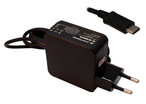 Power4Laptops Adaptador Fuente de alimentación portátil Cargador (Enchufe de la UE) Compatible con HP Spectre 13-v001ns