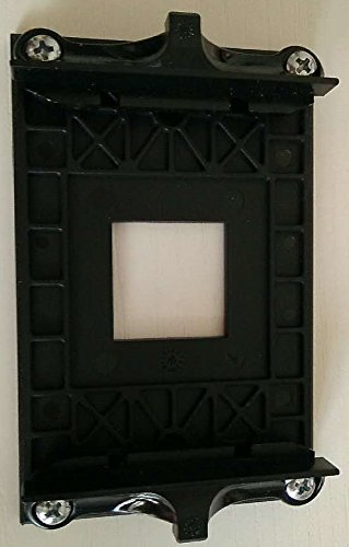 Ecowsera AMD CPU Fan Bracket Base for B350 X 370 X470 AM4 Socket 3pcs Version 90x54mm Mounting Hole Distance with 4 Screws