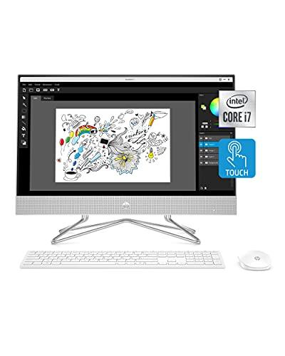 HP 24-inch All-in-One Touchscreen Desktop Computer, Intel Core...