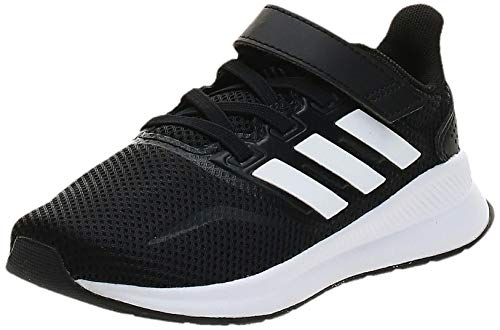 Adidas Runfalcon C, Zapatillas de Trail Running Unisex niño, Negro (Negbás/Ftwbla/Negbás 000), 28 EU