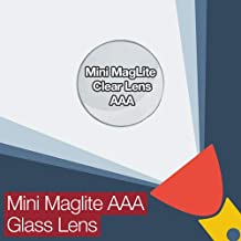 Mini MagLite AAA Replacement Clear Glass Lens