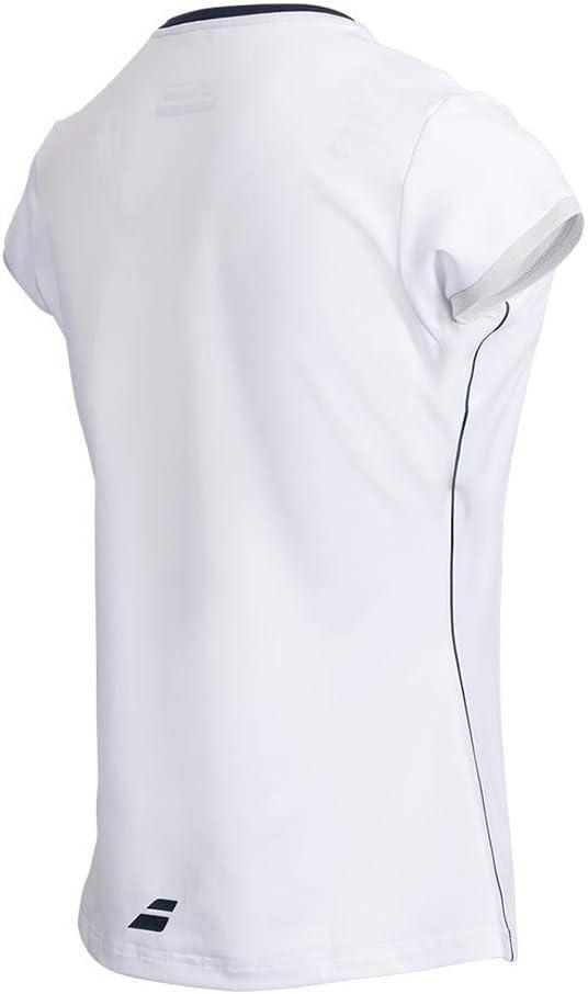 Babolat Filles Match Performance Tennis Badminton Squash Polo Shirt Top
