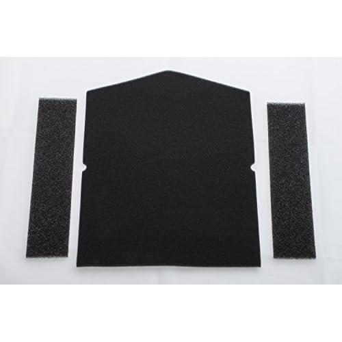 Miele 7358901 - Filtri per asciugatrice a pompa di calore (1 filtro per lo sportello, 2 filtri per anello di riempimento), articolo n° 7358901