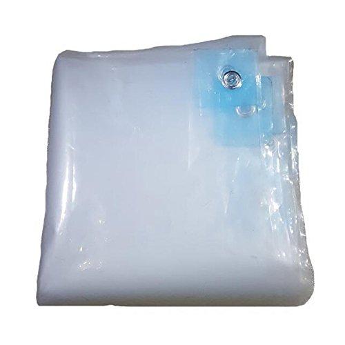 Pengbu MEIDUO Bâches Bâche résistante de bâche Transparente, inclut des Oeillets Tissu imperméable pour l'extérieur (Taille : 8×8m)