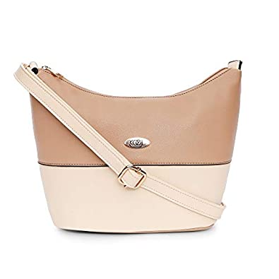 Koel by Lavie Women's Sling Bag with No (Taupe)