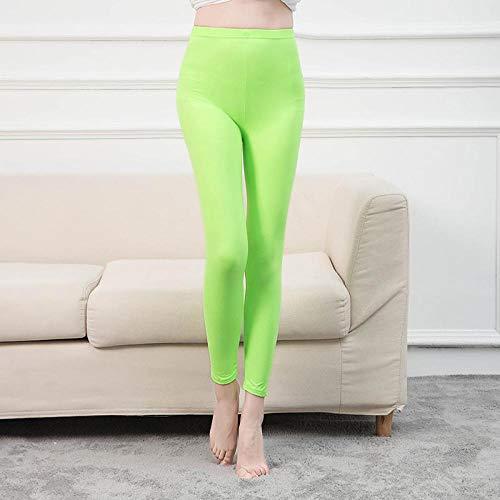 Leggings Colores De Caramelo Leggings Sólidos Mujeres Legging Casual Leggins Multicolores De Fitness Pantalones Elásticos Femeninos Pantalon