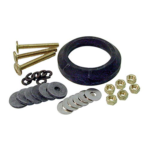 DANCO 88913 Tank to Bowl Repair Kit, For Use With Mansfield HET Toilets, Galvanized Steel