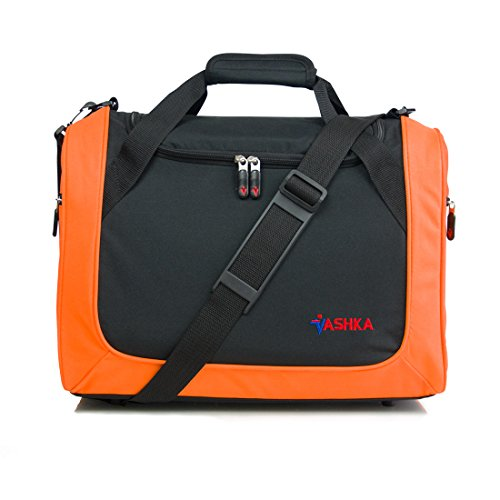 Vashka Reisetasche On-Board Wizzair Cabin Bag/Handgepäck 42x32x25cm Massive 30 Liter Fassungsvermögen - Orange