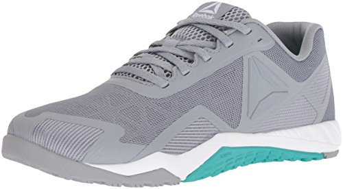 Reebok Women's ROS Workout TR 2.0 Sneaker, Cool Shadow/Solid Teal/White, 5 M US