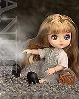 """HIL 5.9"""" 美しいファッション人形13関節が動くことができますガールドール子供のおもちゃ人形をドレスアップシミュレーションおもちゃコレクション人形女の子のお気に入りのおもちゃ誕生日プレゼント,C"""